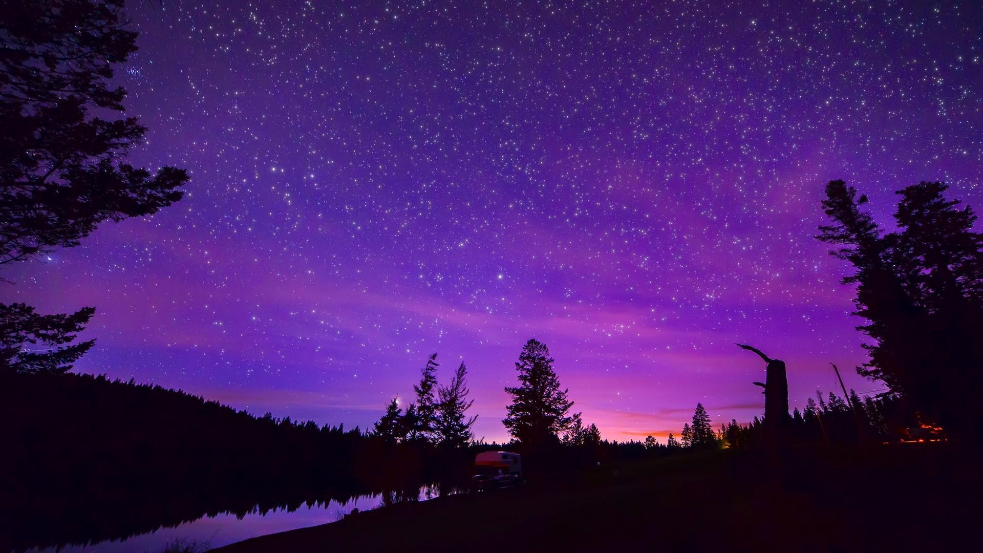 Purple Sky Image