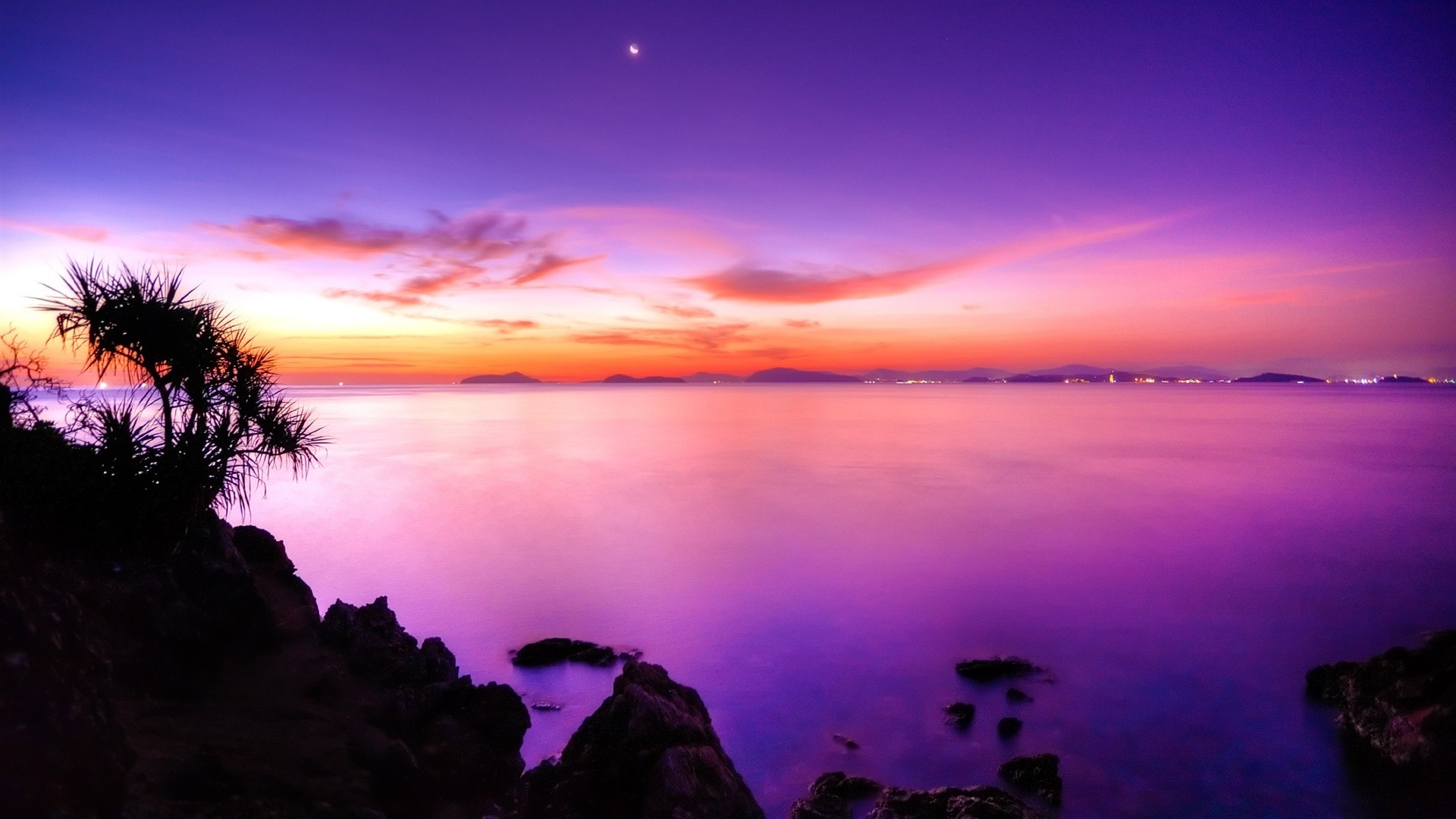 Purple Sky Free Wallpaper and Background