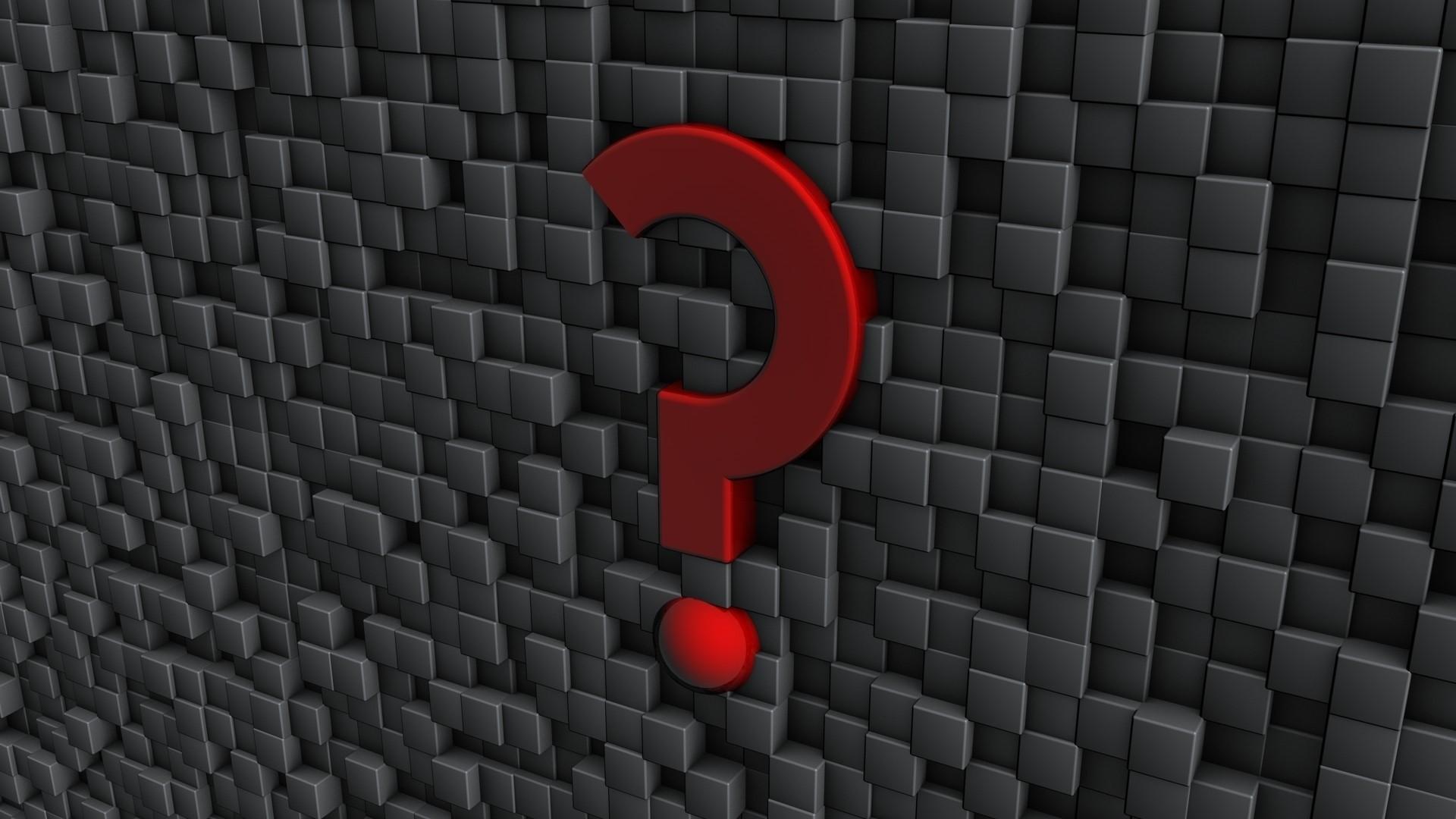 Question Mark PC Wallpaper