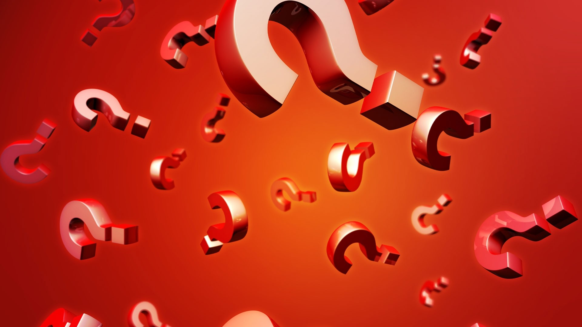 Question Mark Wallpaper theme