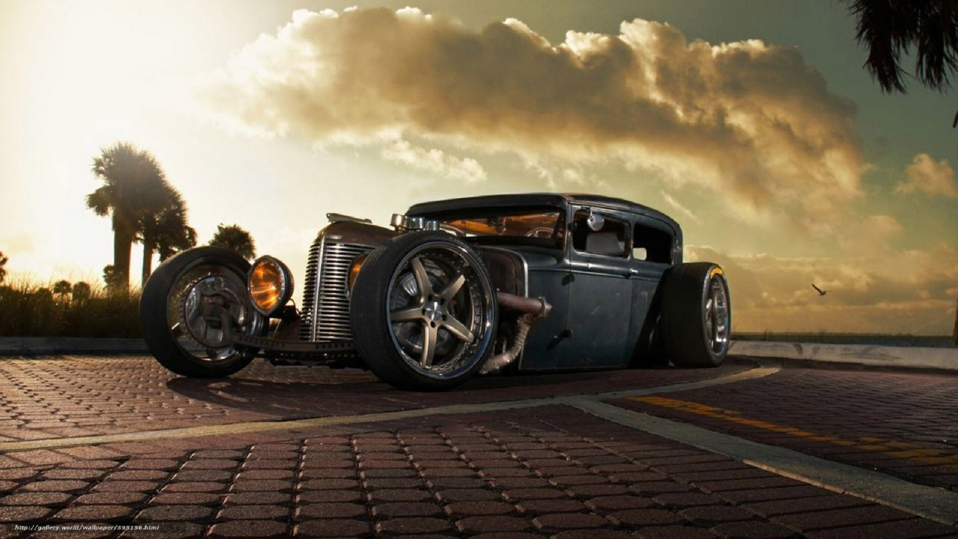 Rat Rod Free Wallpaper and Background