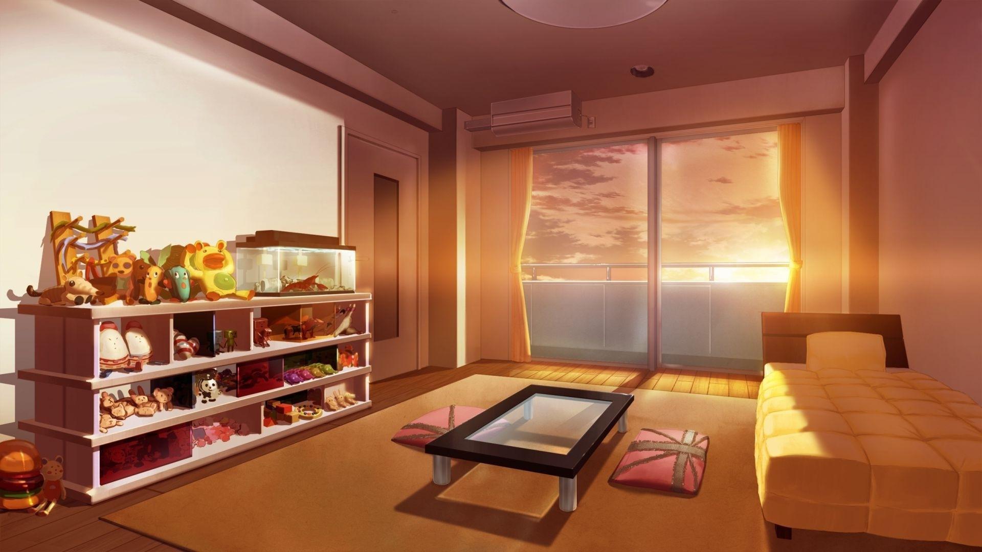 Anime Bedroom Download Wallpaper