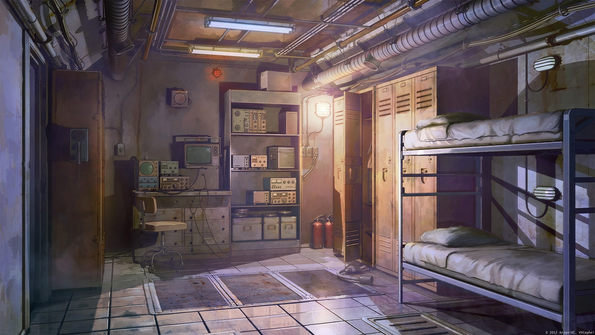 Anime Bedroom Wallpaper theme