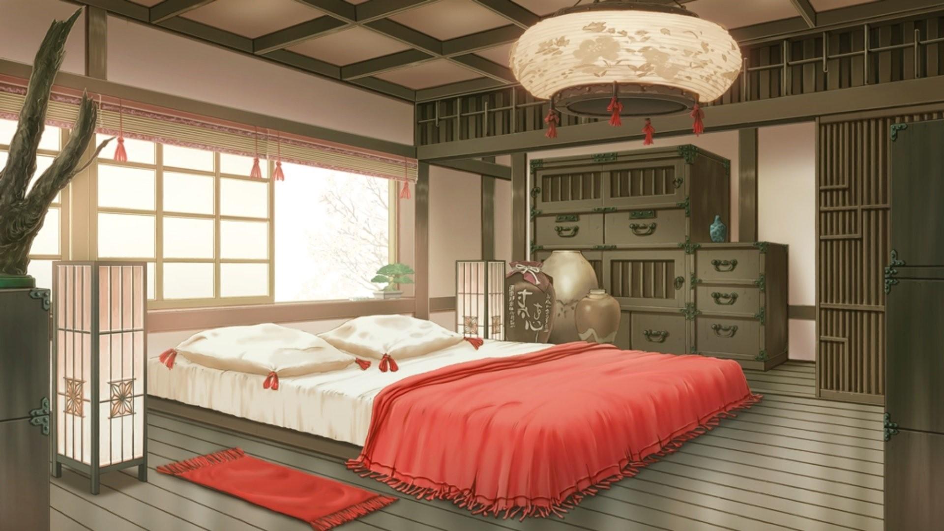 Anime Bedroom PC Wallpaper