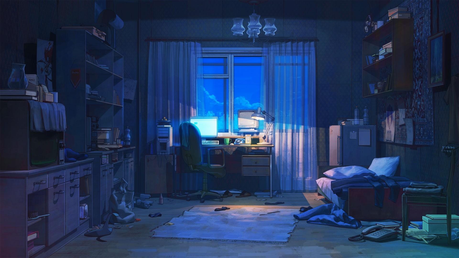 Anime Bedroom hd wallpaper download