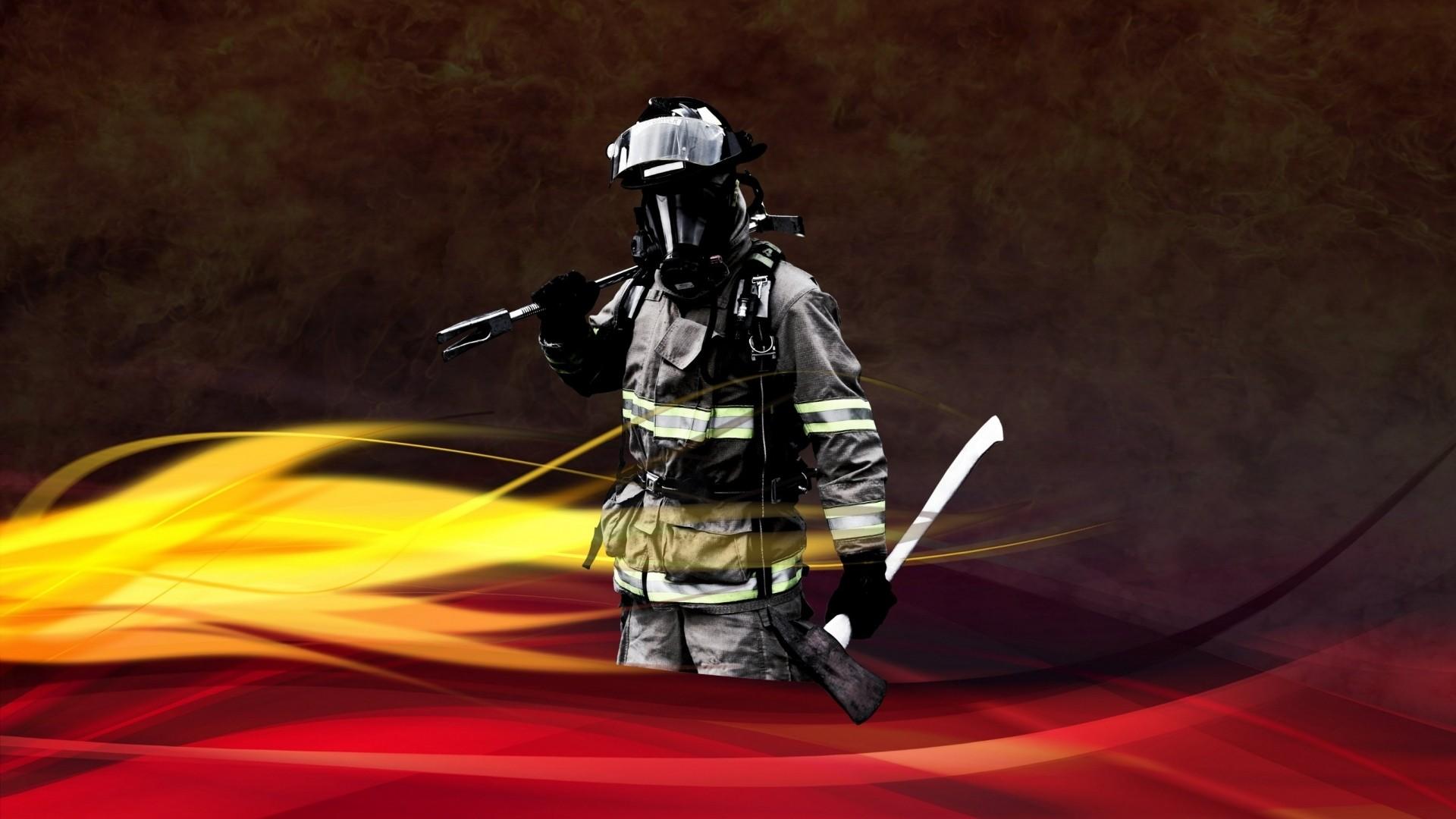 Firefighter HD Wallpaper