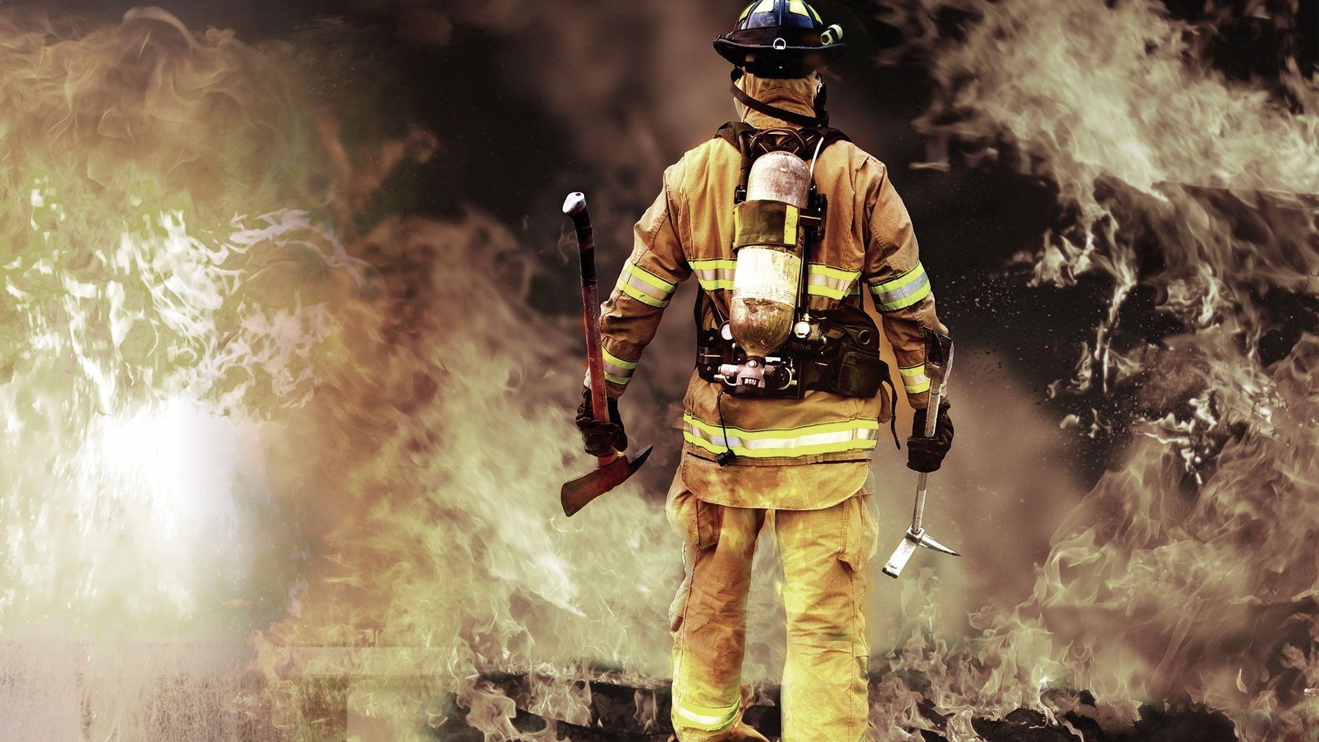 Firefighter Wallpaper image hd