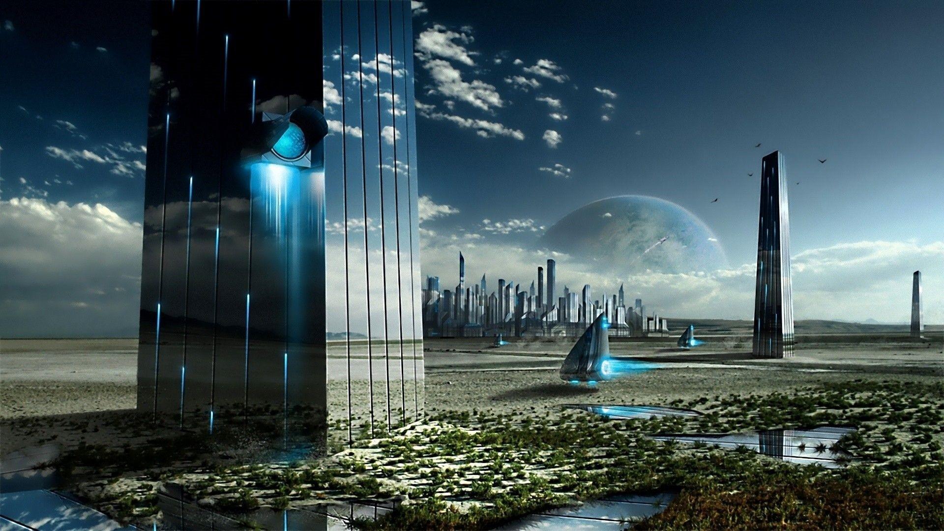 Futuristic Background Wallpaper