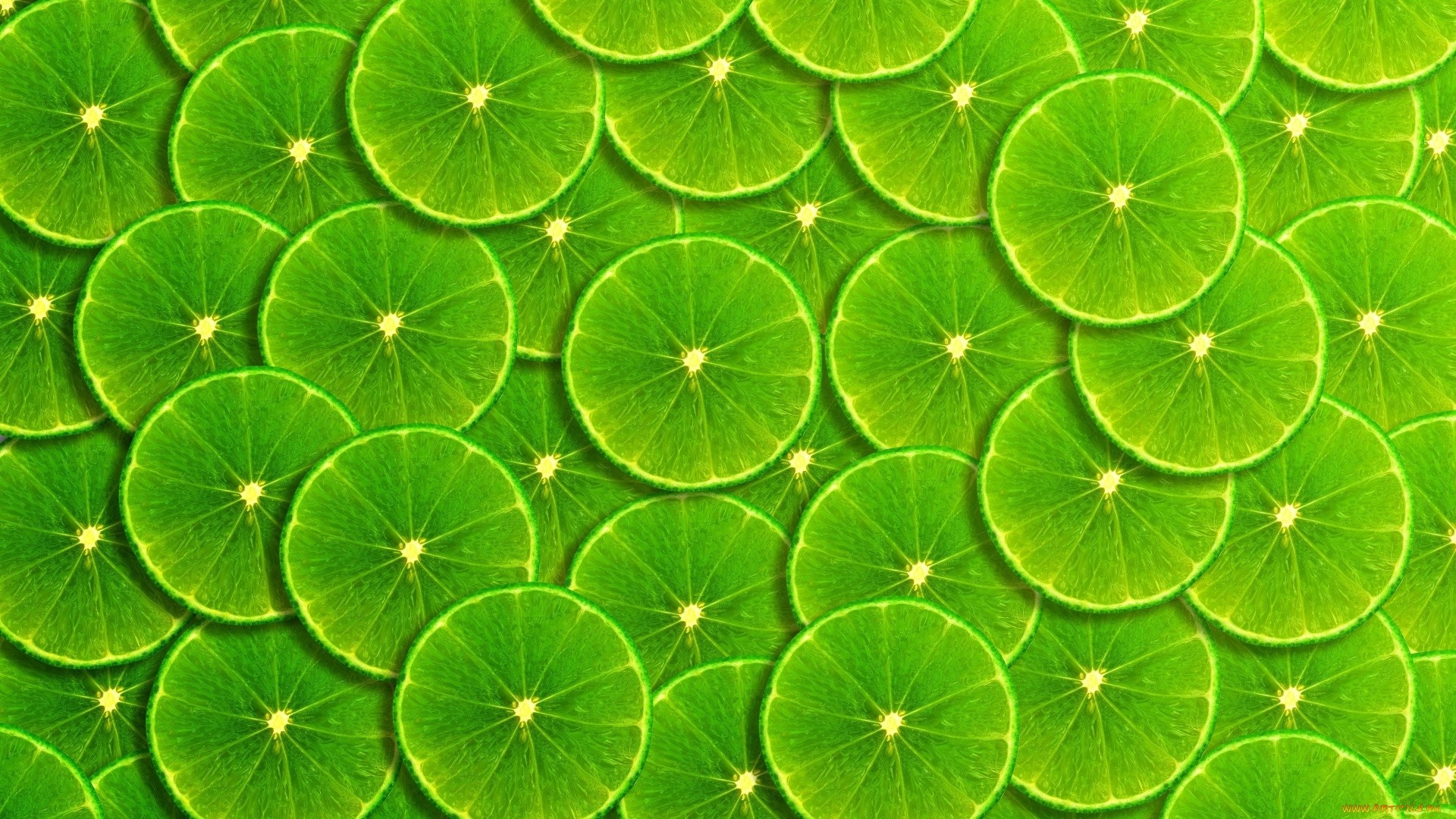 Lime Green Full HD Wallpaper