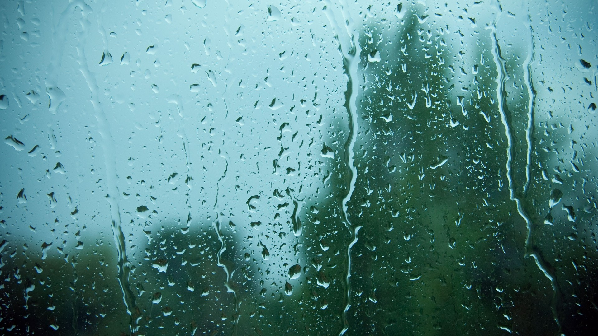 Rain Background Wallpaper