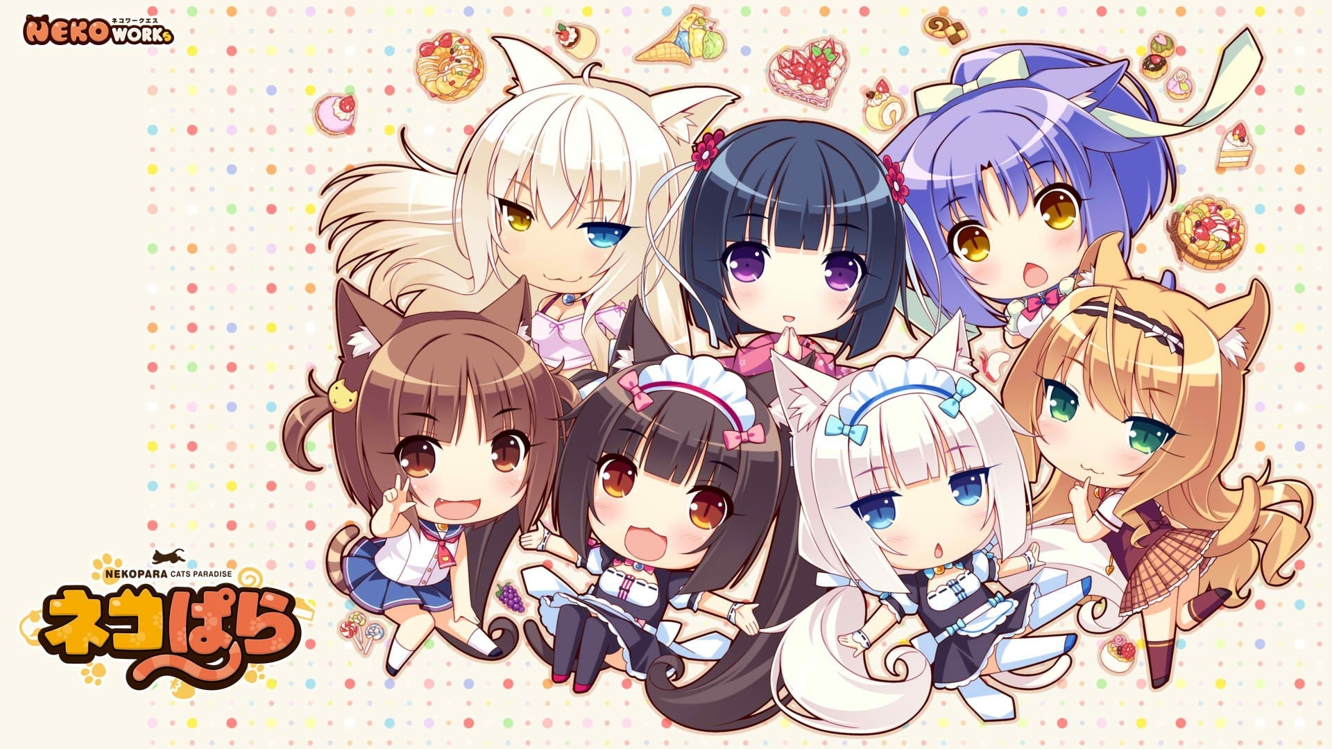 Chibi Anime Girl hd desktop wallpaper