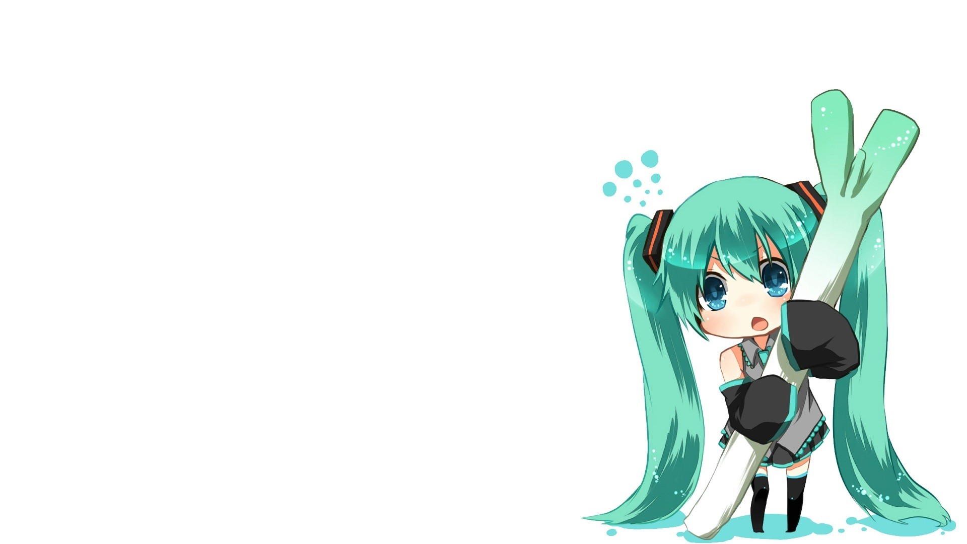 Chibi Anime Girl Wallpaper