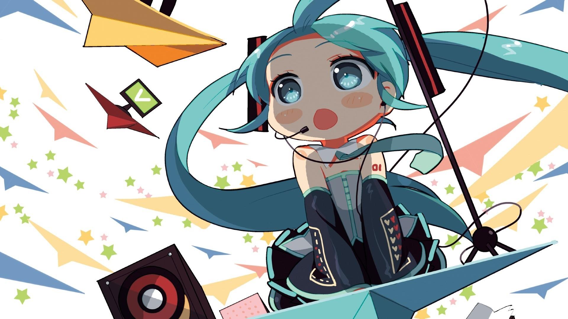 Chibi Anime Girl PC Wallpaper