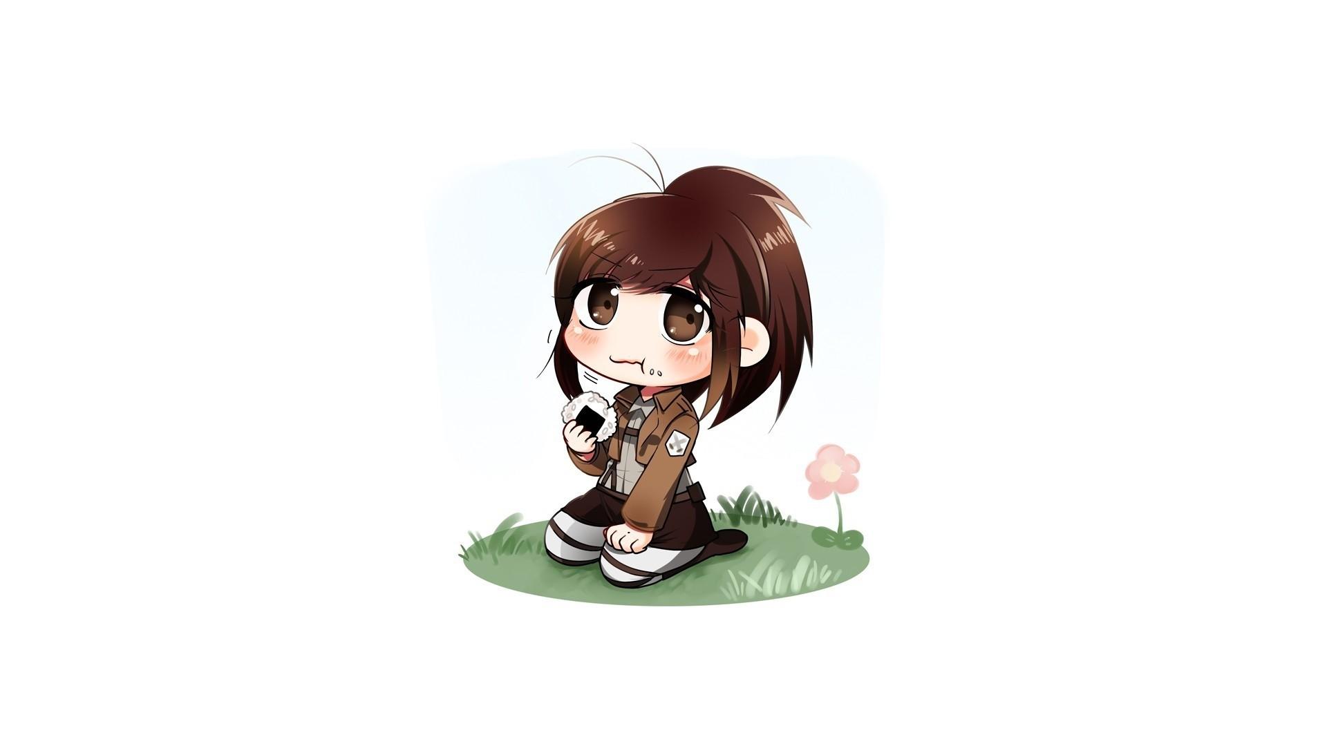Chibi Anime Girl PC Wallpaper HD