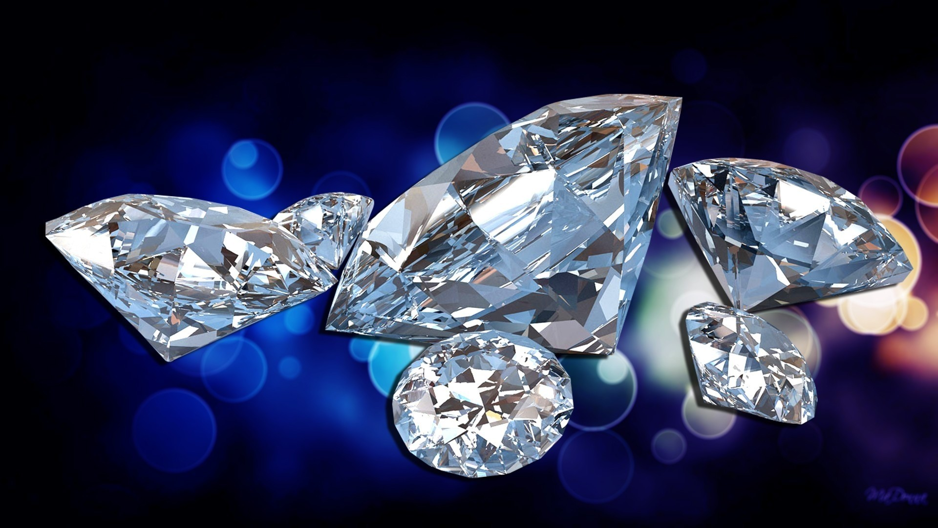 Diamond Full HD Wallpaper