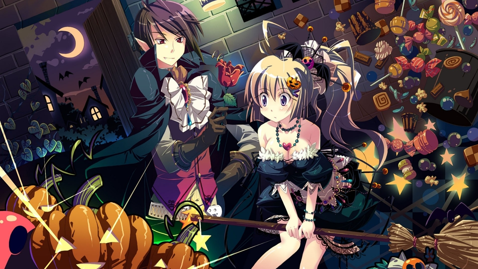 Halloween Anime Wallpaper Picture hd