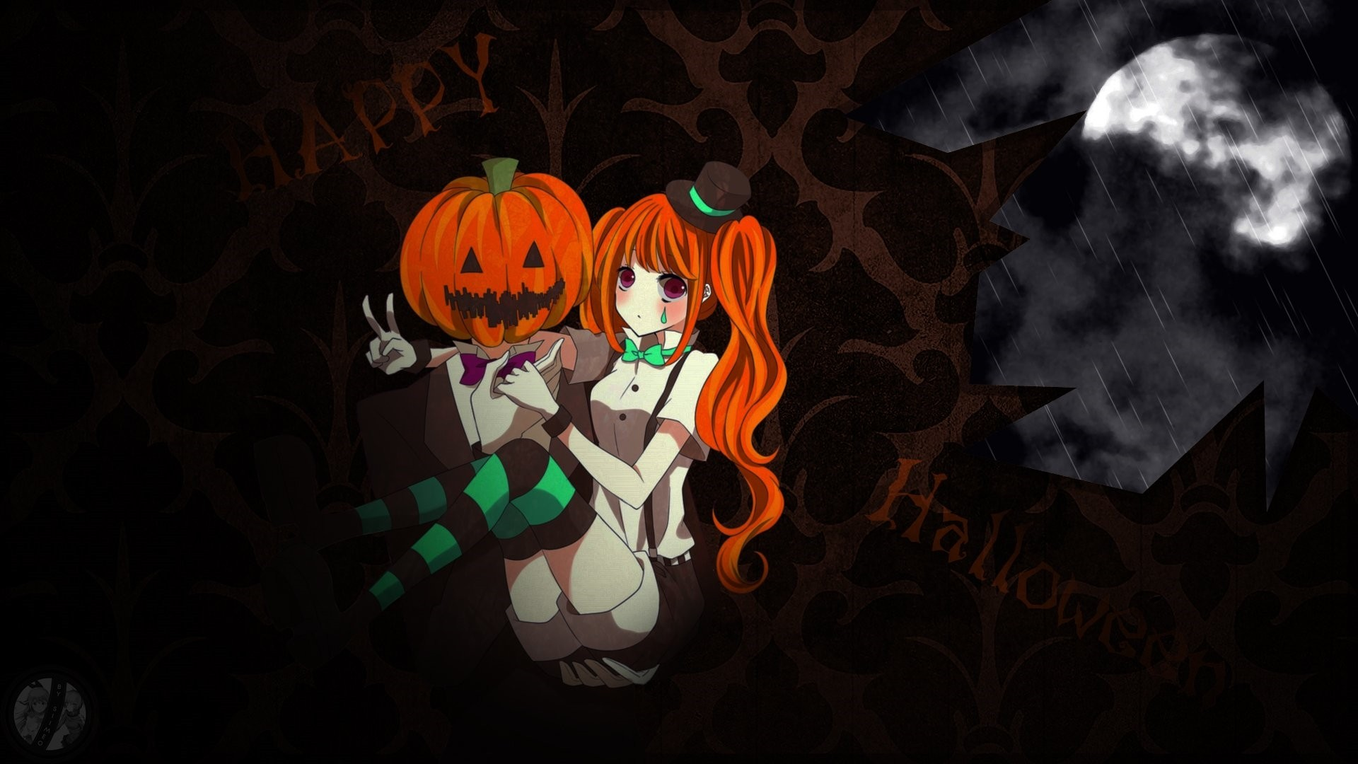 Halloween Anime Wallpaper