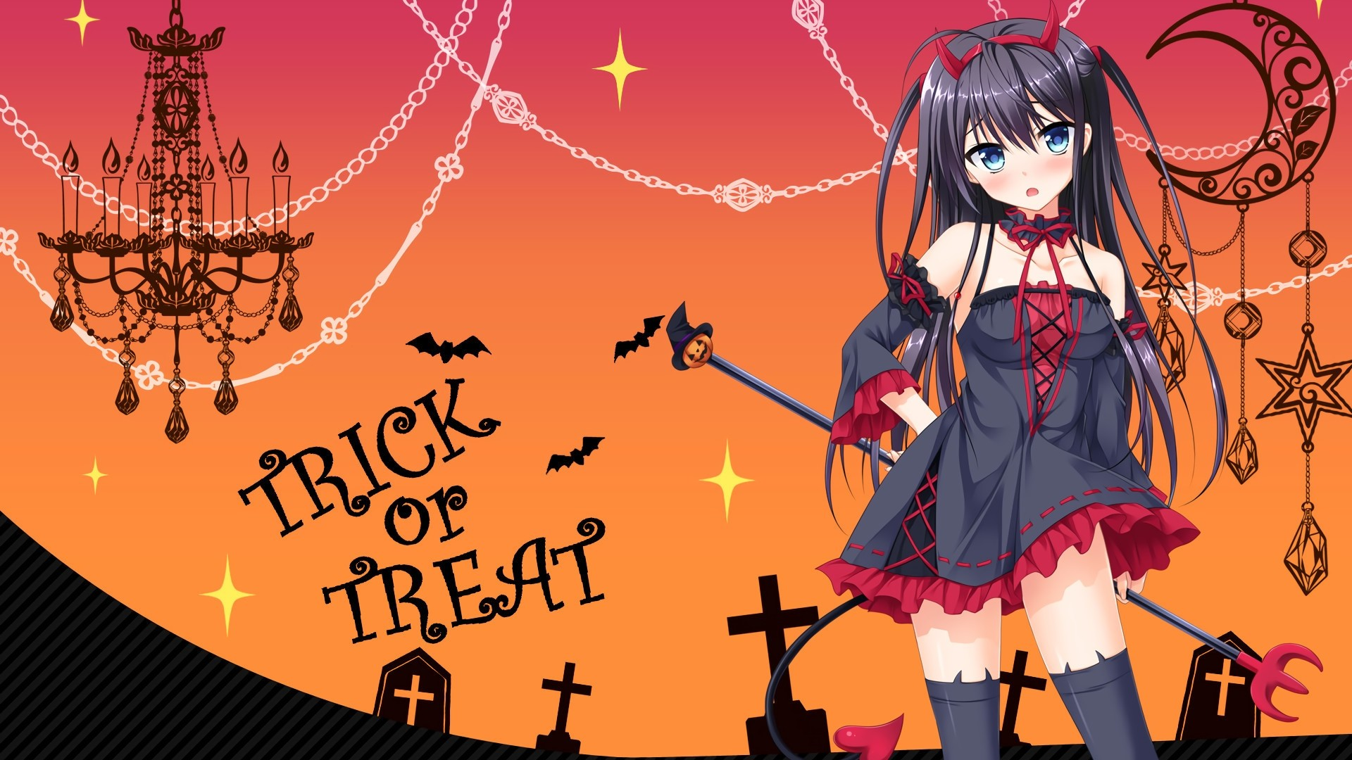 Halloween Anime hd wallpaper download