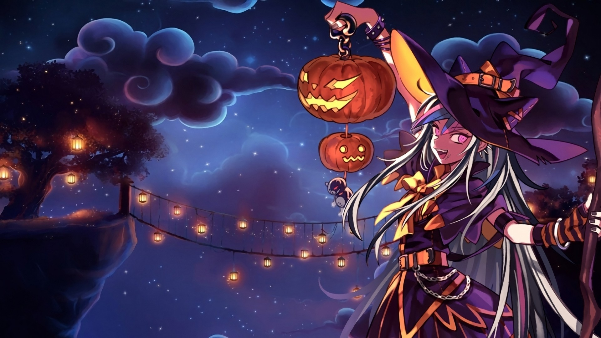 Halloween Anime Free Wallpaper and Background