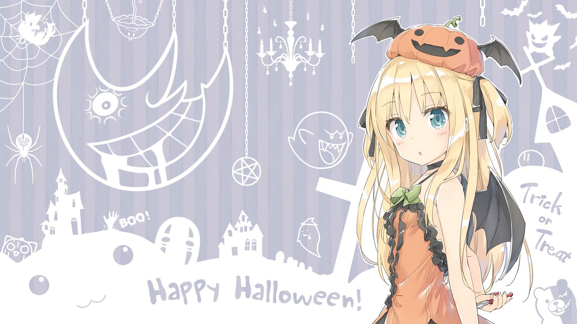 Halloween Anime Download Wallpaper