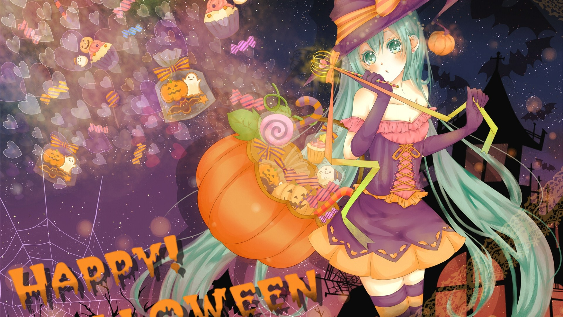Halloween Anime Wallpaper image hd