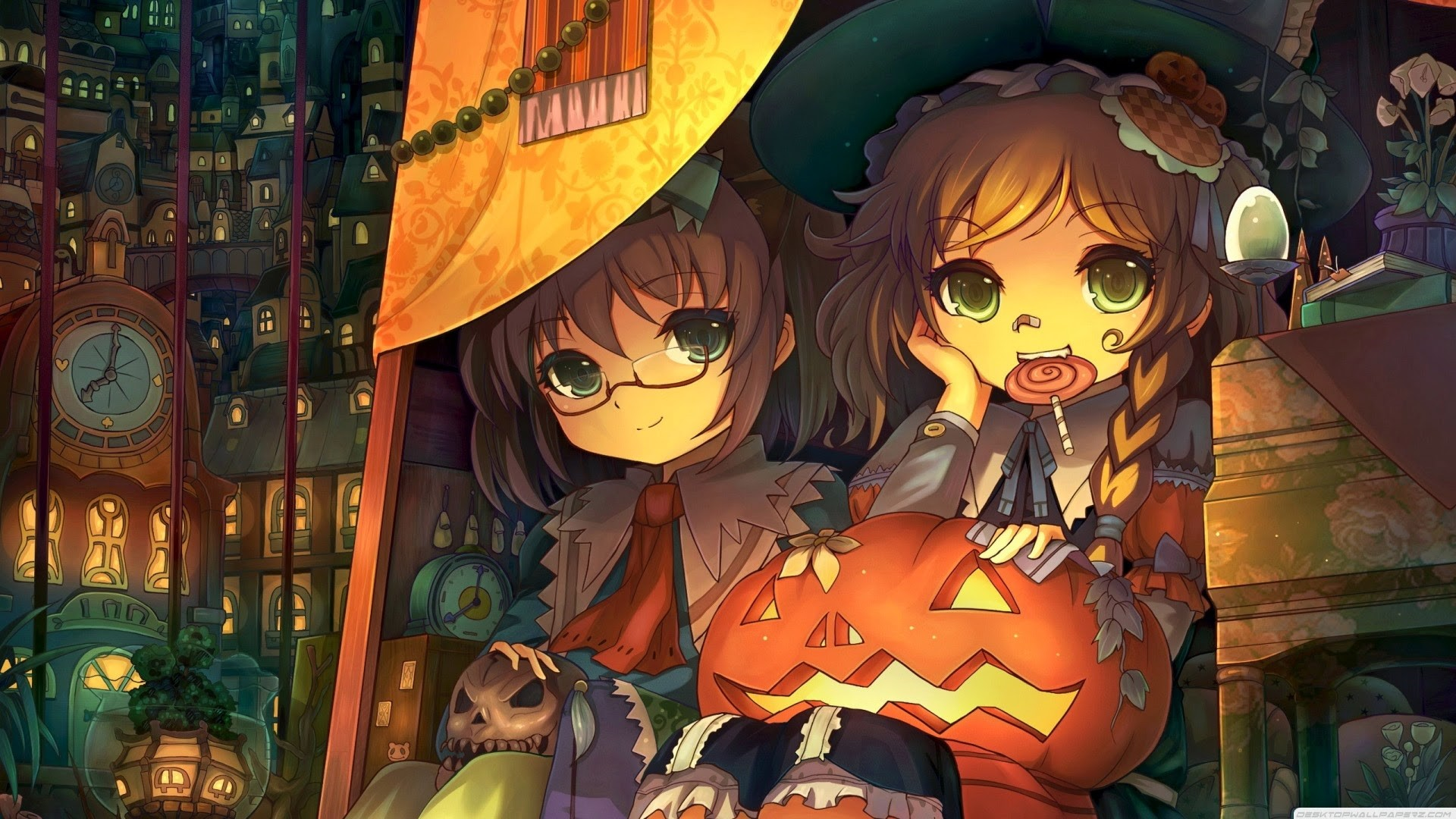 Halloween Anime Wallpaper and Background