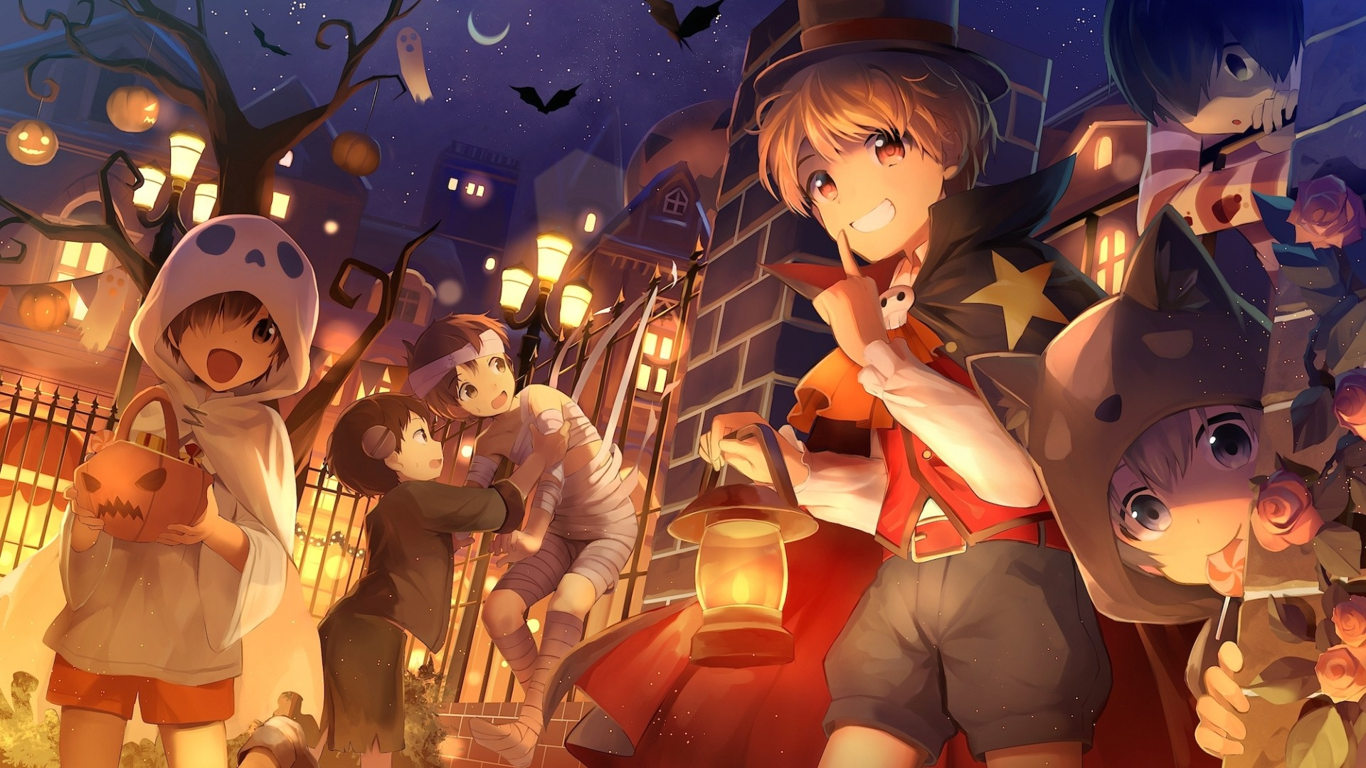 Halloween Anime Picture