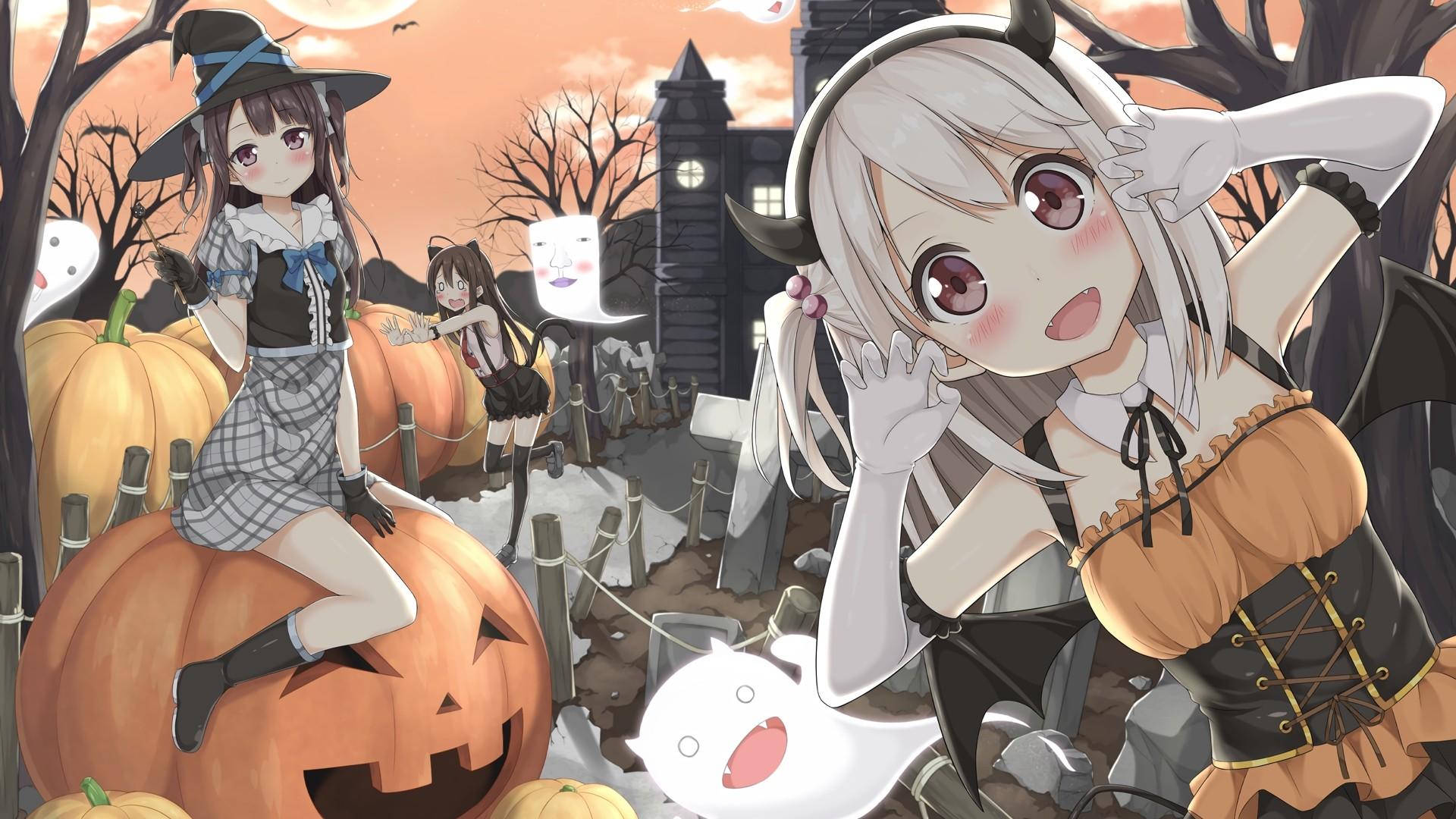 Halloween Anime HD Wallpaper