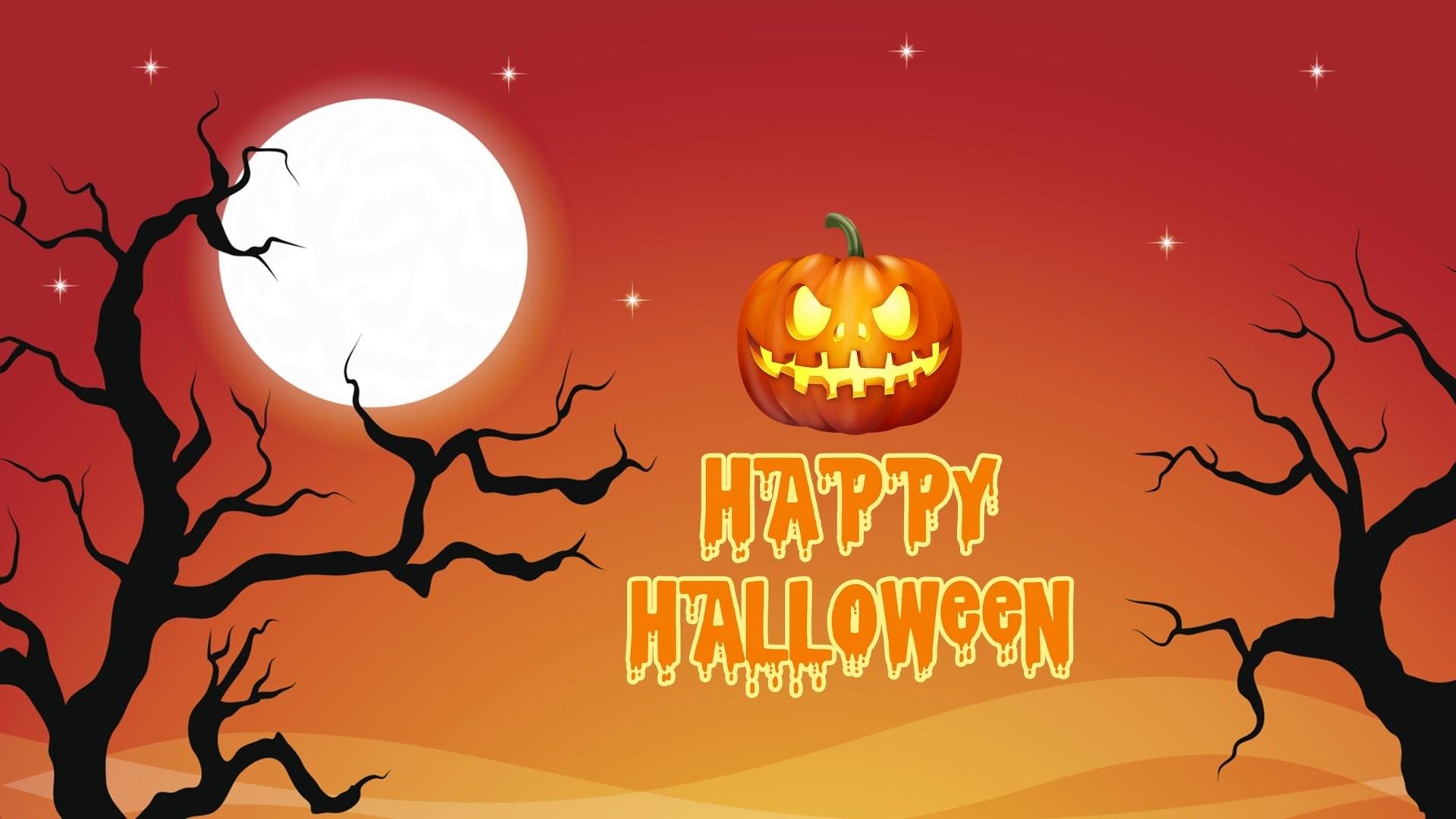 Halloween Greeting Card hd desktop wallpaper