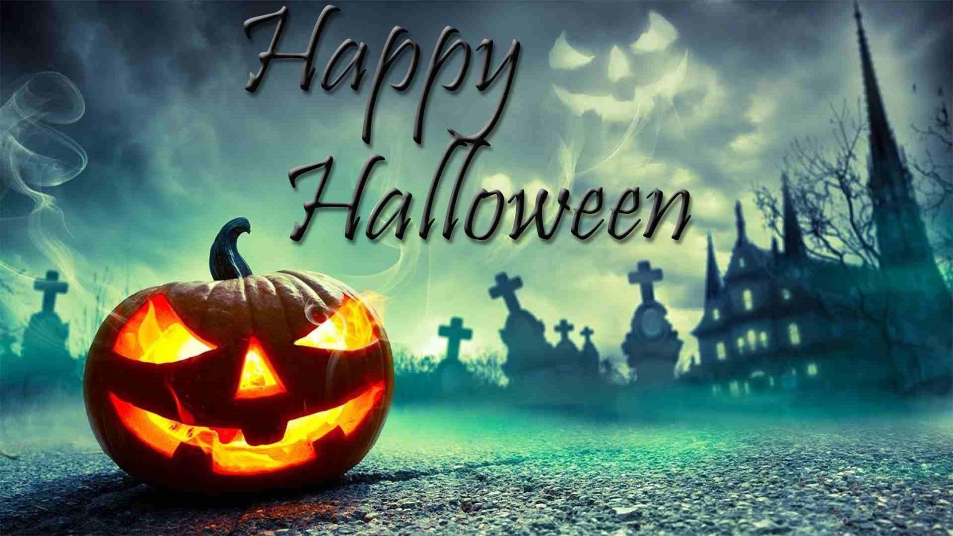 Halloween Greeting Card Image