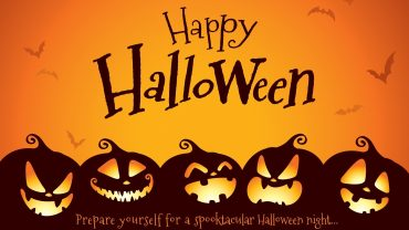 Halloween Greeting Card Background