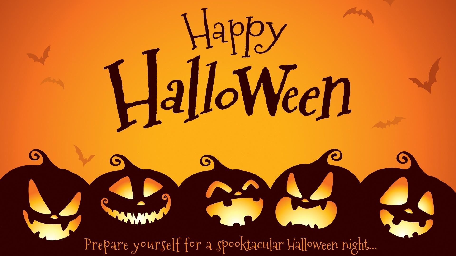 Halloween Greeting Card Background