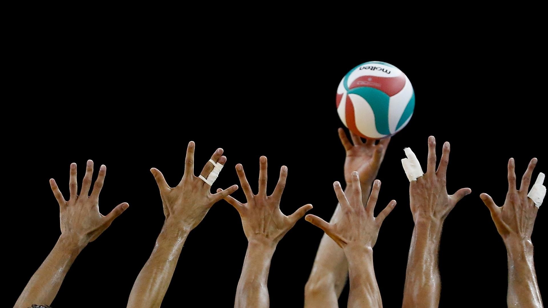 Volleyball Wallpaper theme