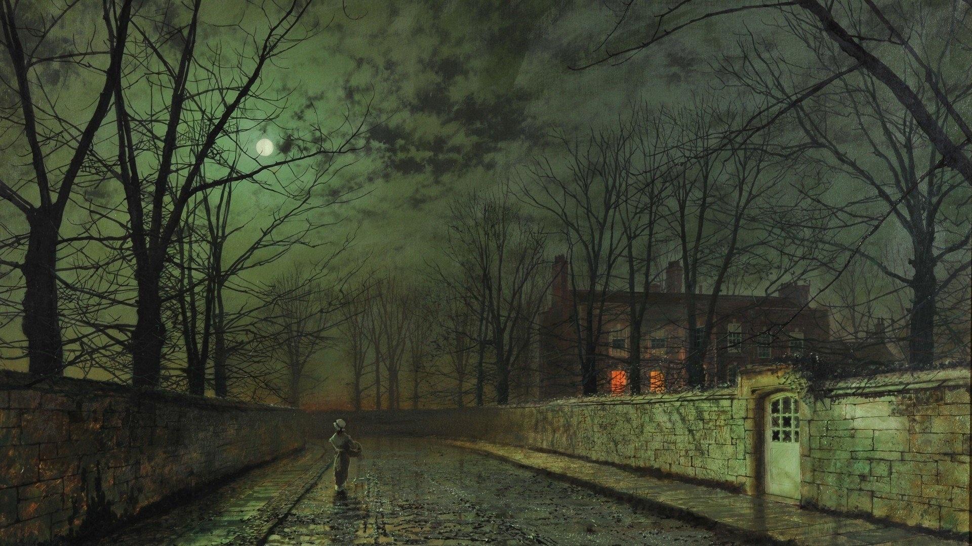Dark Autumn Wallpaper and Background