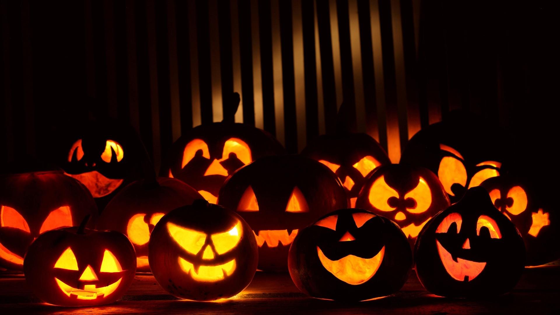 Halloween Pumpkin Desktop wallpaper