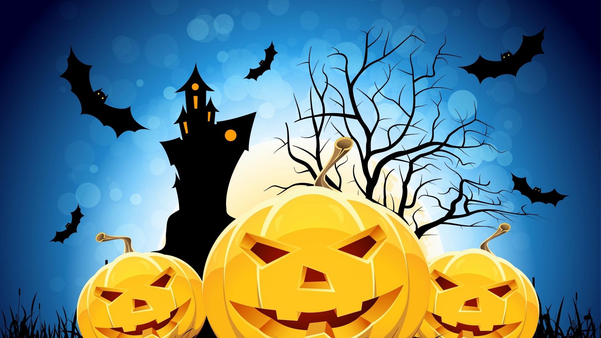 Halloween Pumpkin Wallpaper theme