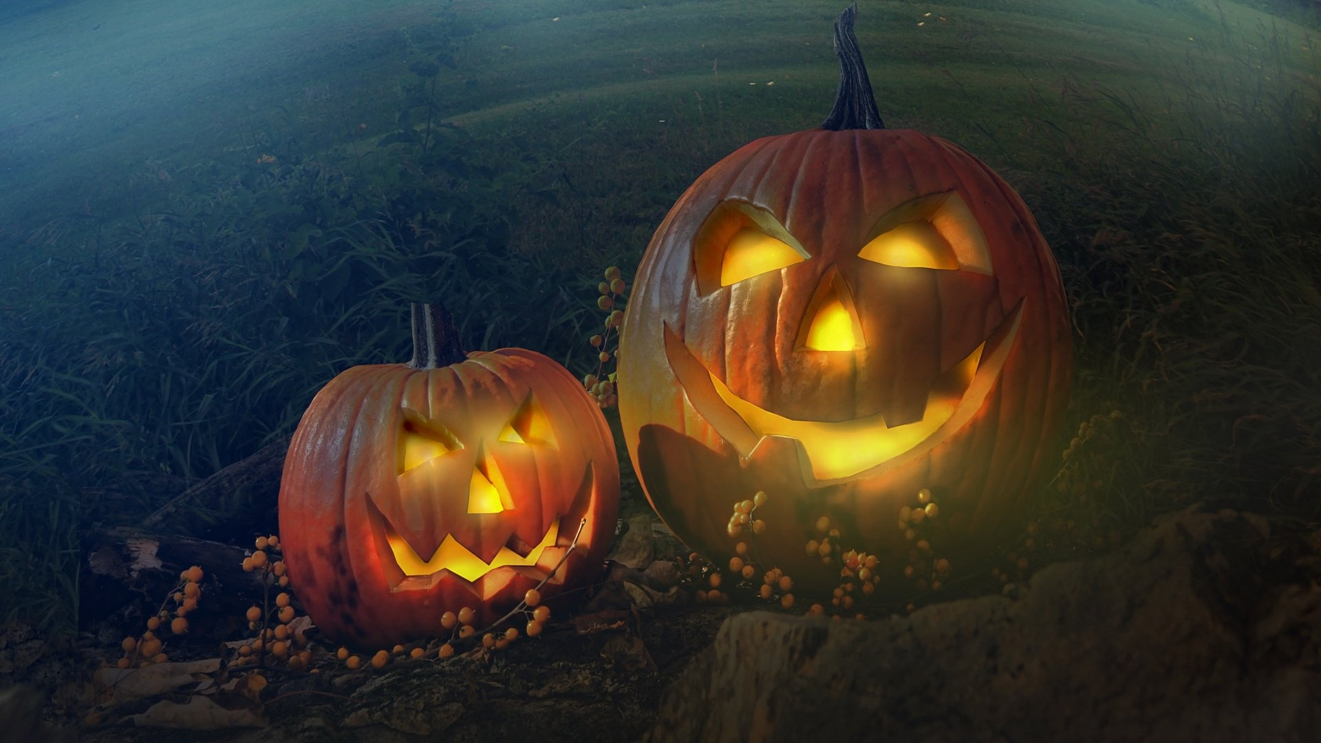 Halloween Pumpkin a wallpaper