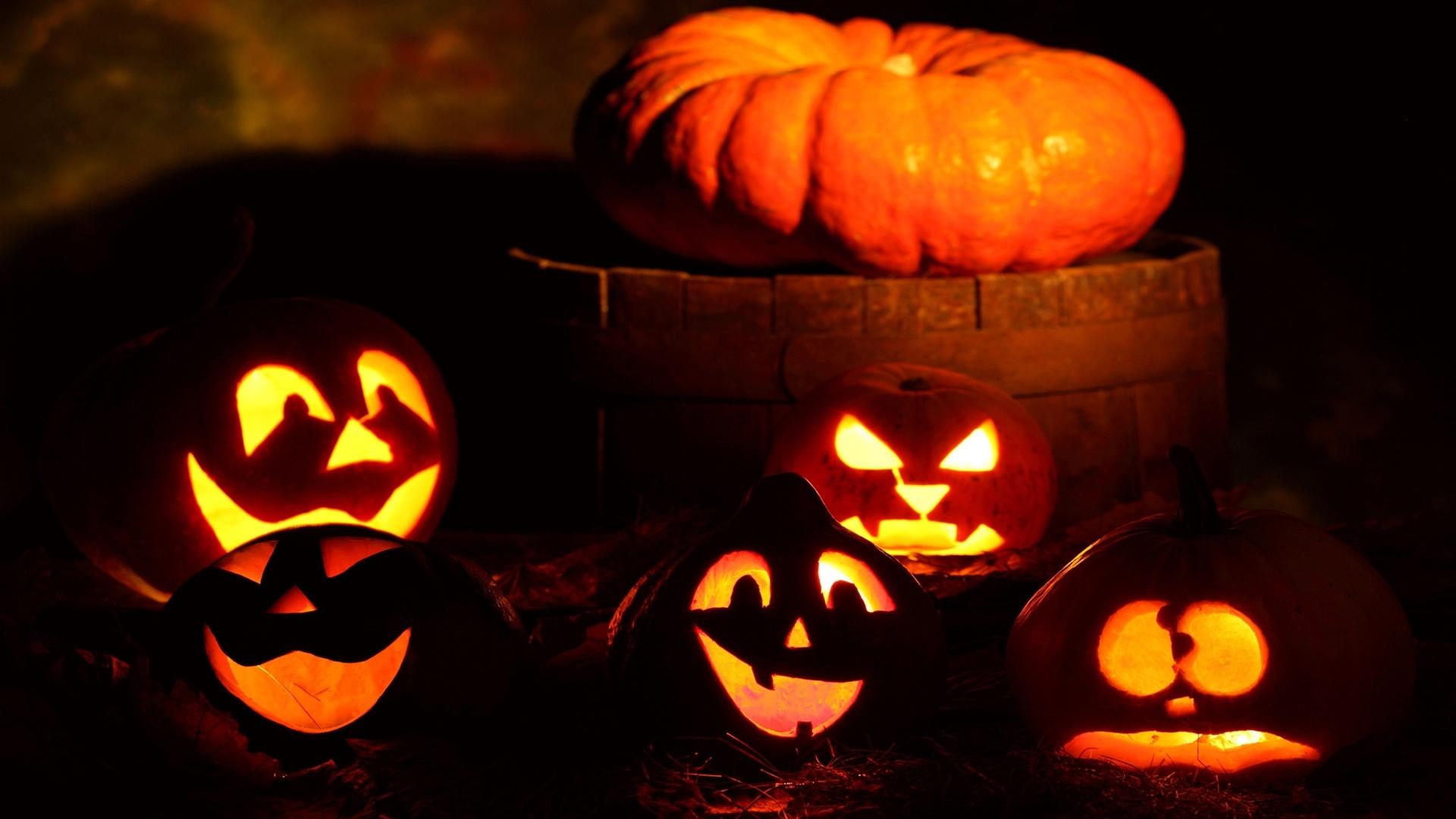 Halloween Pumpkin computer wallpaper