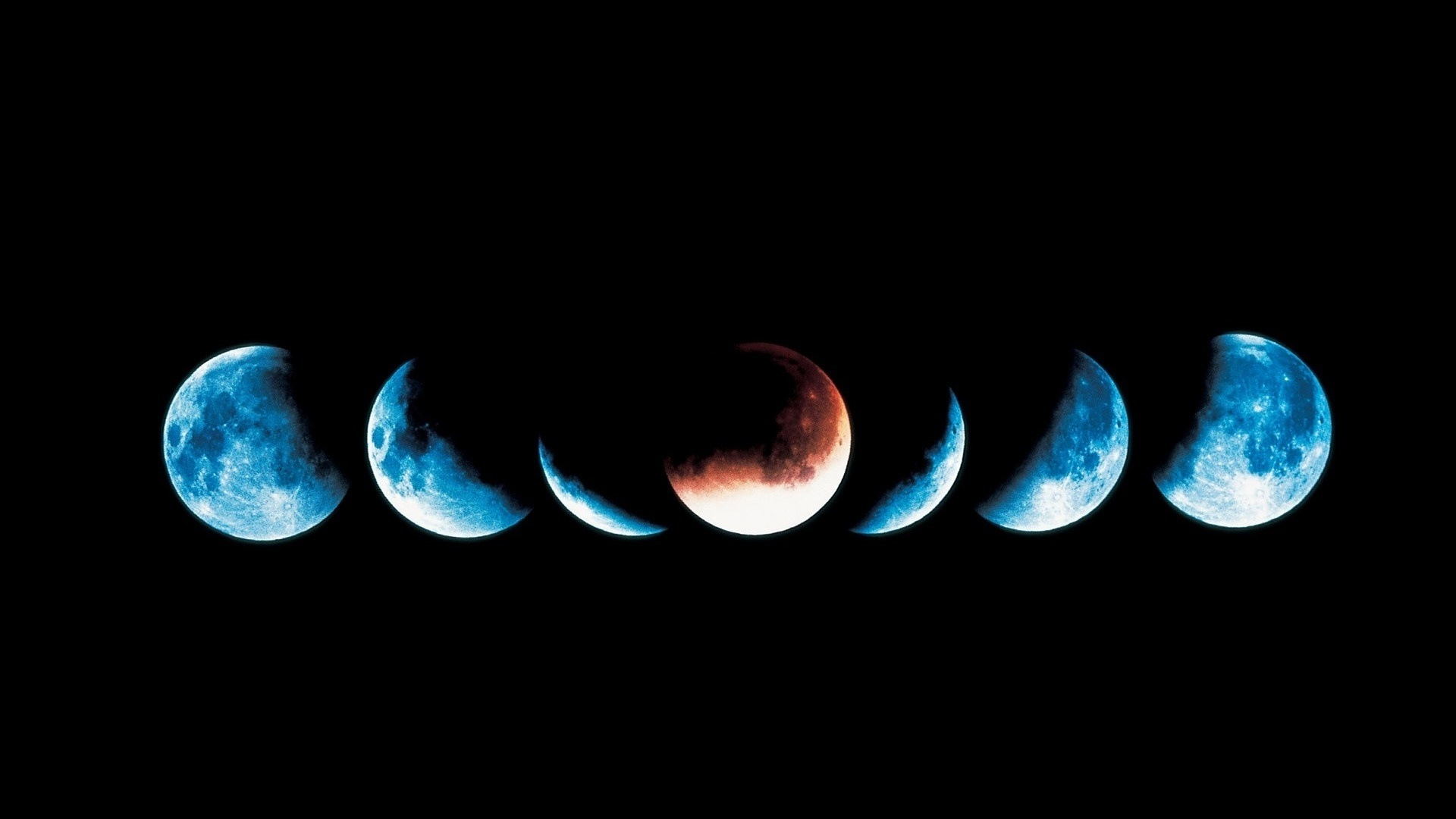Moon Phases Wallpaper Picture hd
