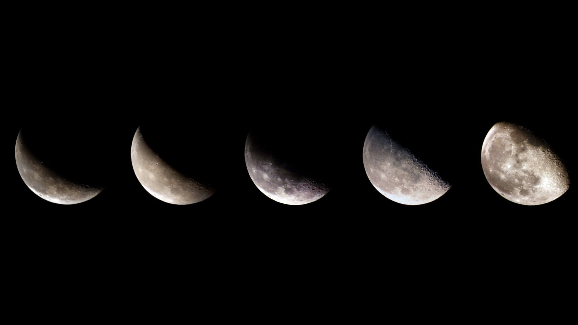 Moon Phases Wallpaper for pc
