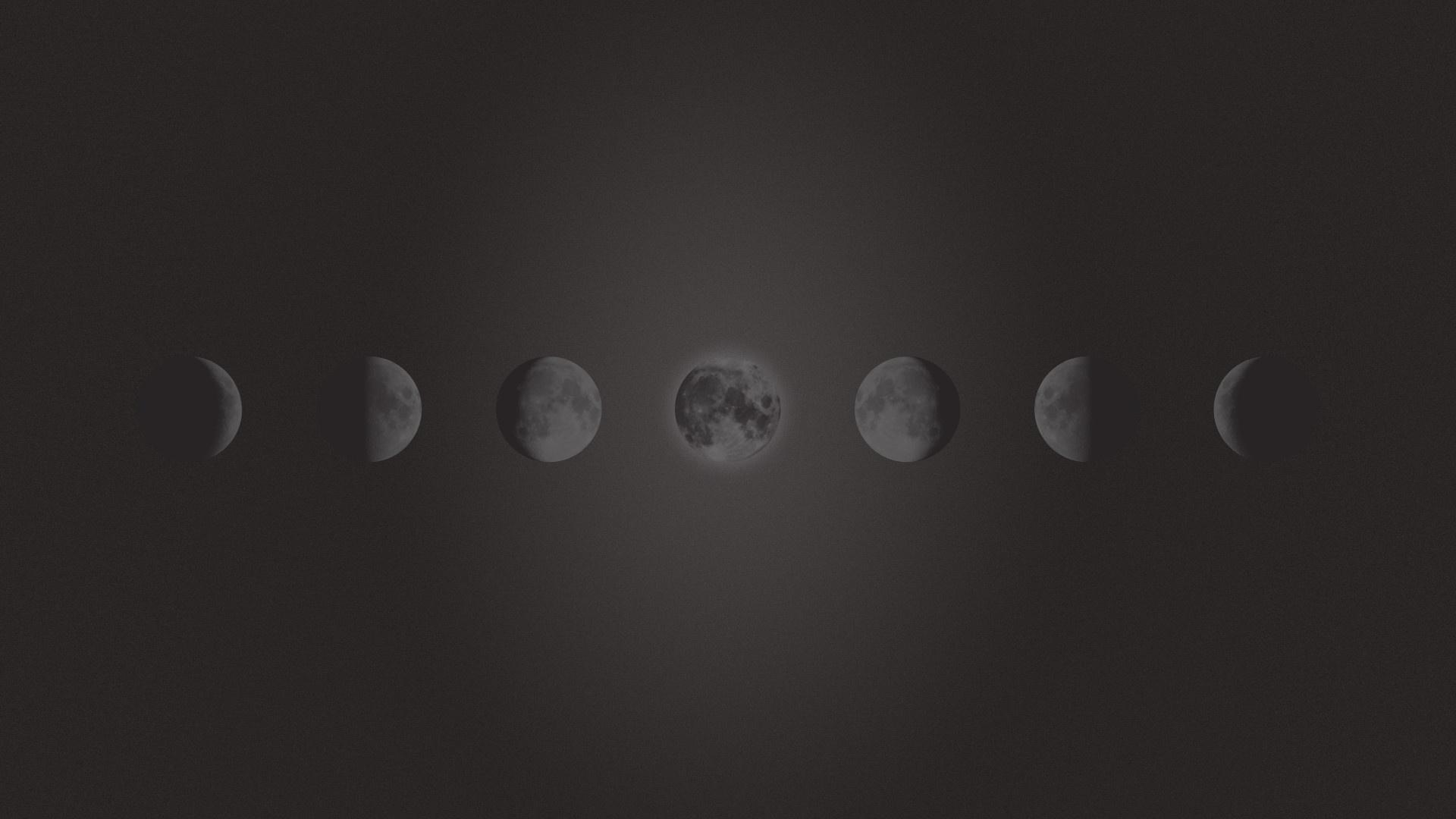 Moon Phases wallpaper photo hd