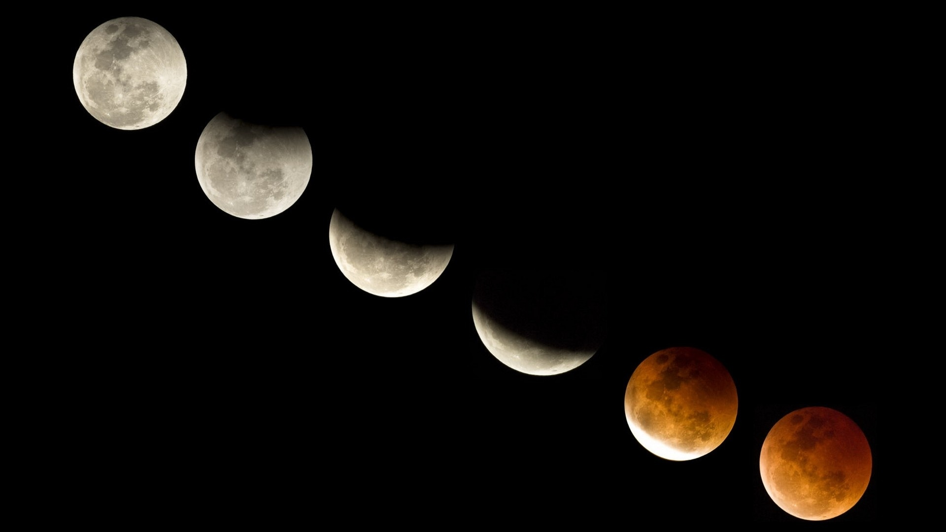 Moon Phases Background