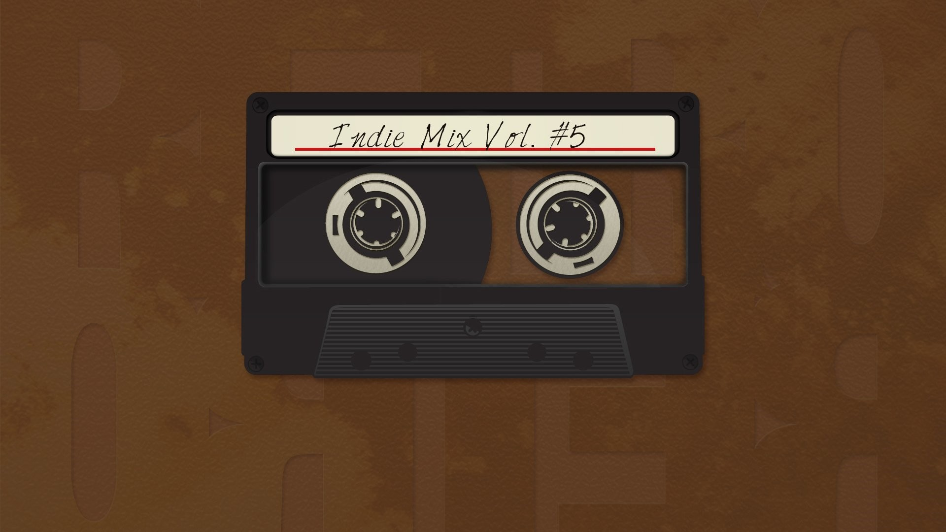 Cassette Tape Background Wallpaper