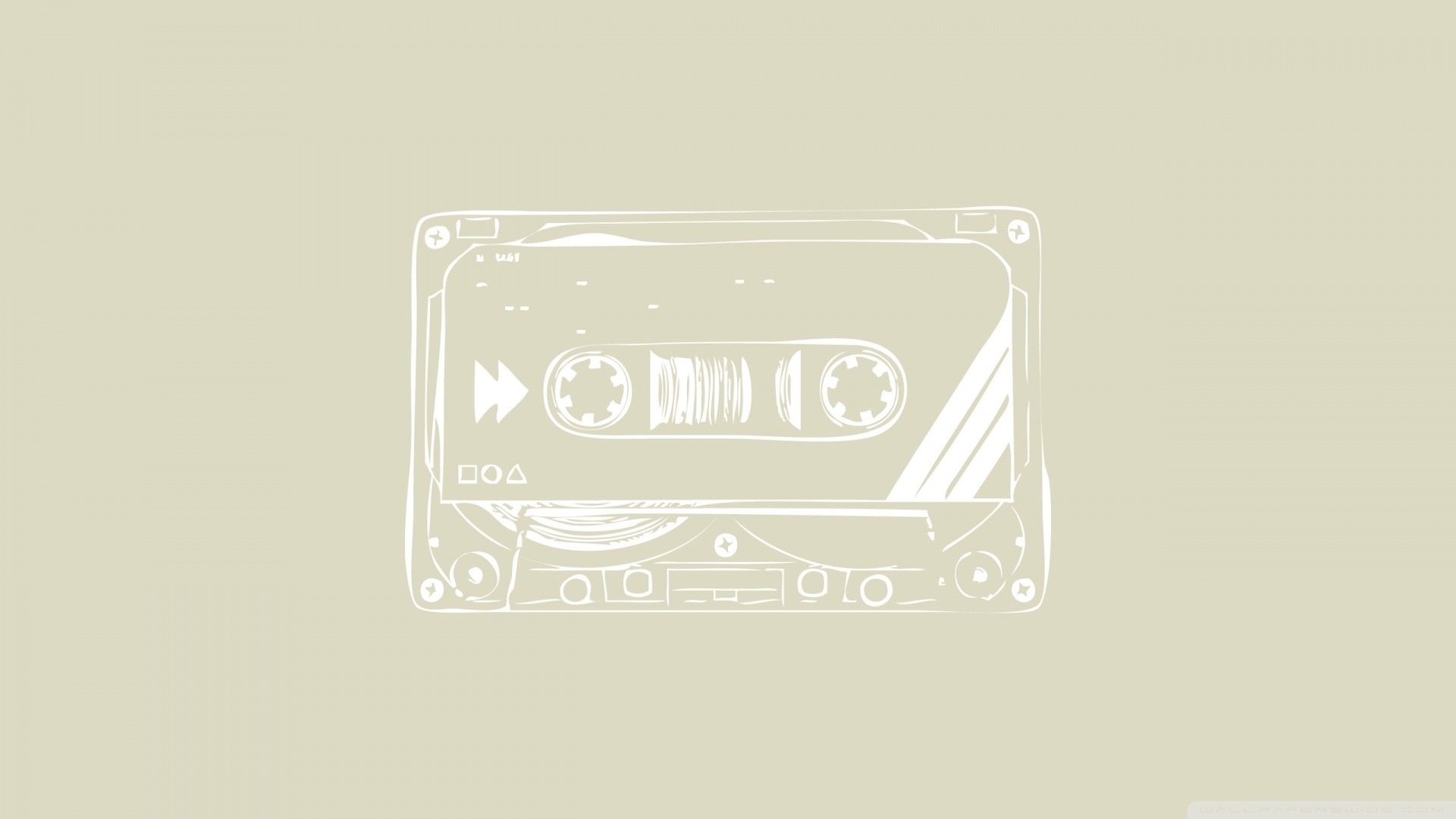 Cassette Tape Wallpaper for pc