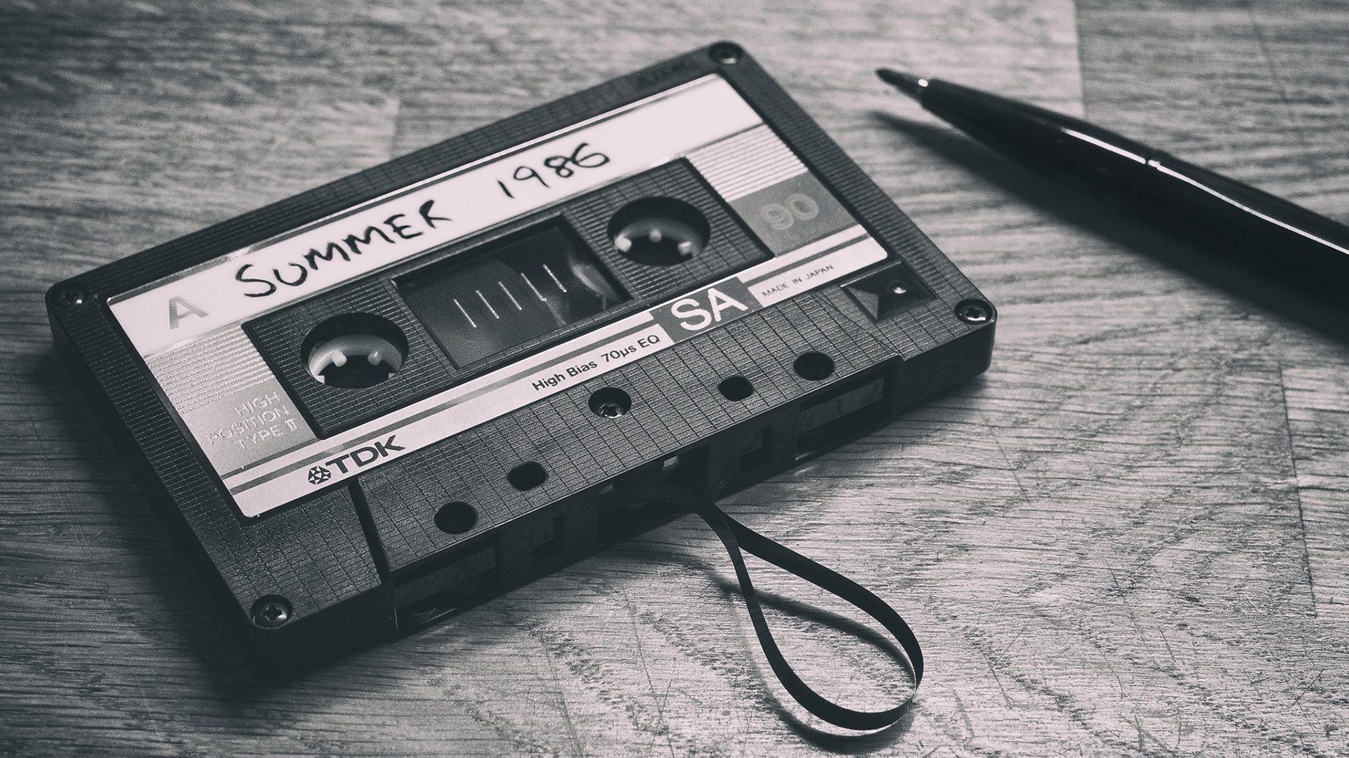 Cassette Tape computer wallpaper