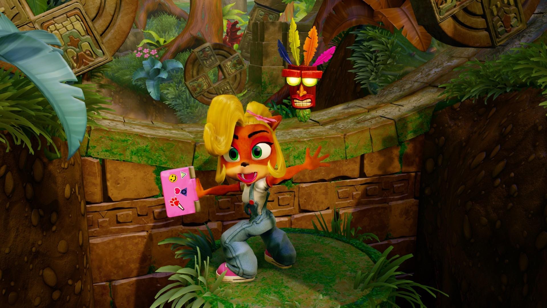 Crash Bandicoot hd desktop wallpaper