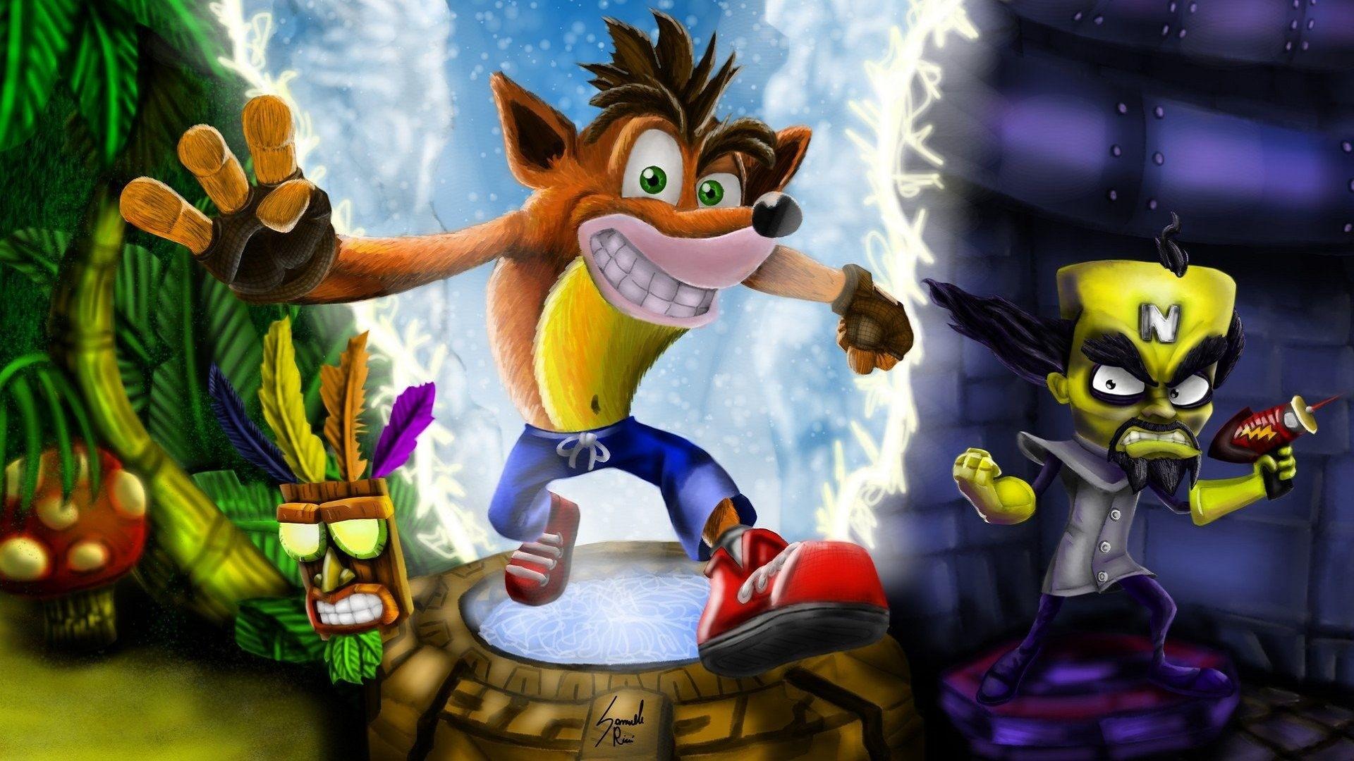 Crash Bandicoot Full HD Wallpaper