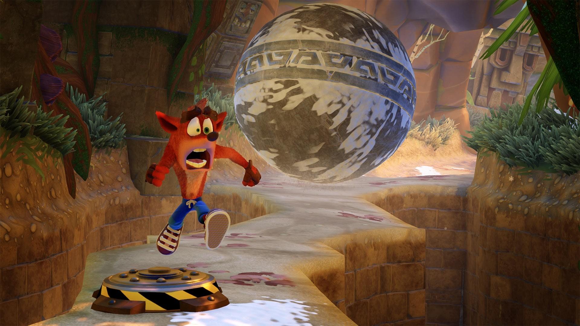 Crash Bandicoot Background Wallpaper