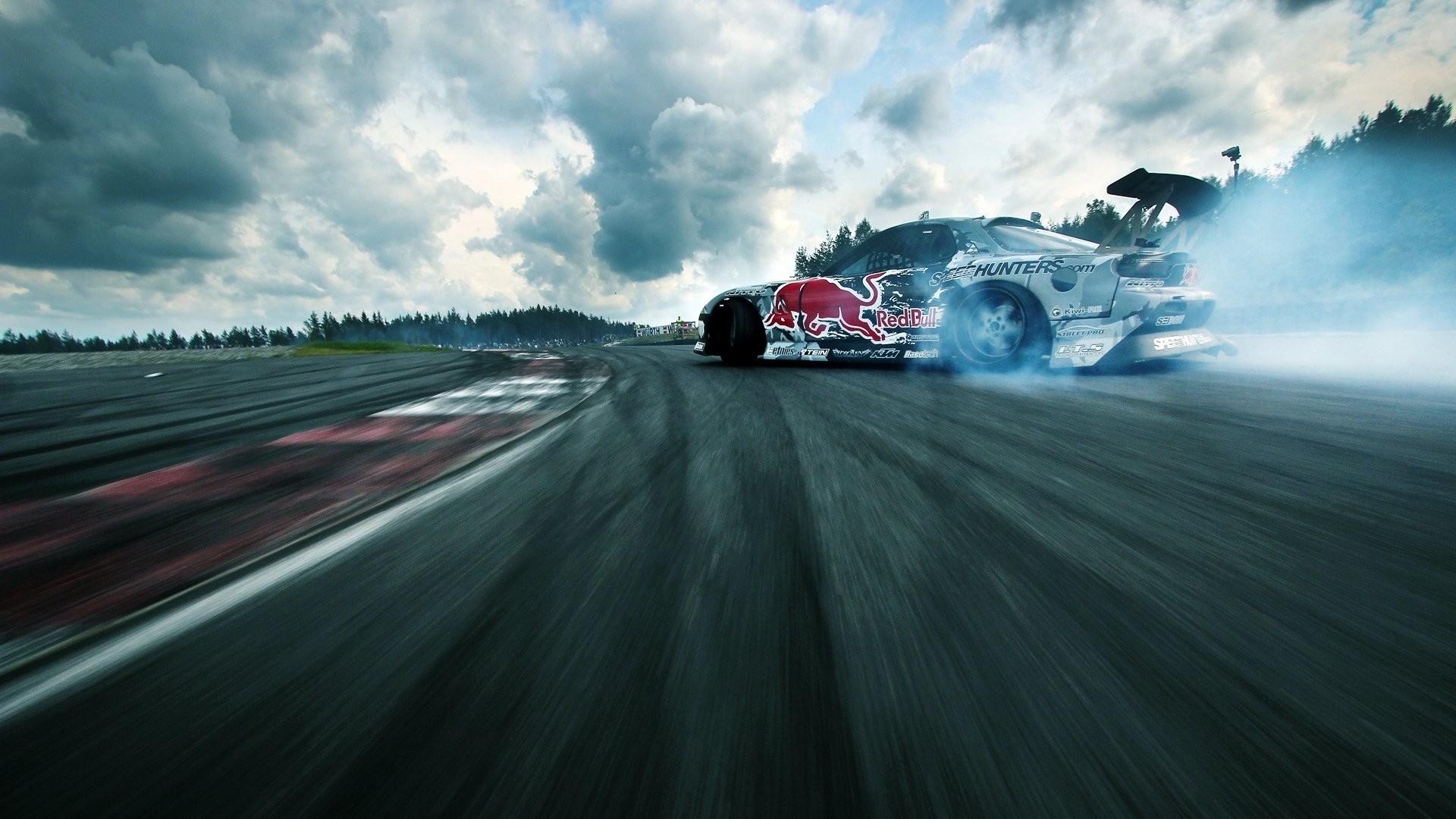 Drift Background Wallpaper