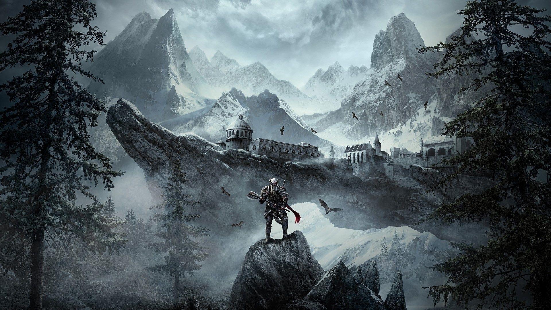 Elder Scrolls Free Wallpaper